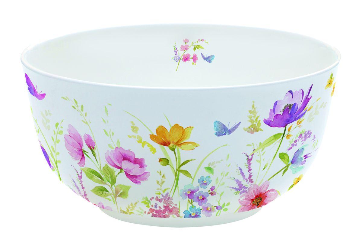 Миска Nuova R2S Полевые цветы, диаметр 14 см391602Оригинальная миска Nuova R2S Полевые цветы, изготовленная из высококачественного фарфора, декорирована красочным изображением полевых цветов. Такая миска украсит сервировку вашего стола и подчеркнет прекрасный вкус хозяина, а также станет отличным подарком. Диаметр: 14 см. Высота: 7 см.