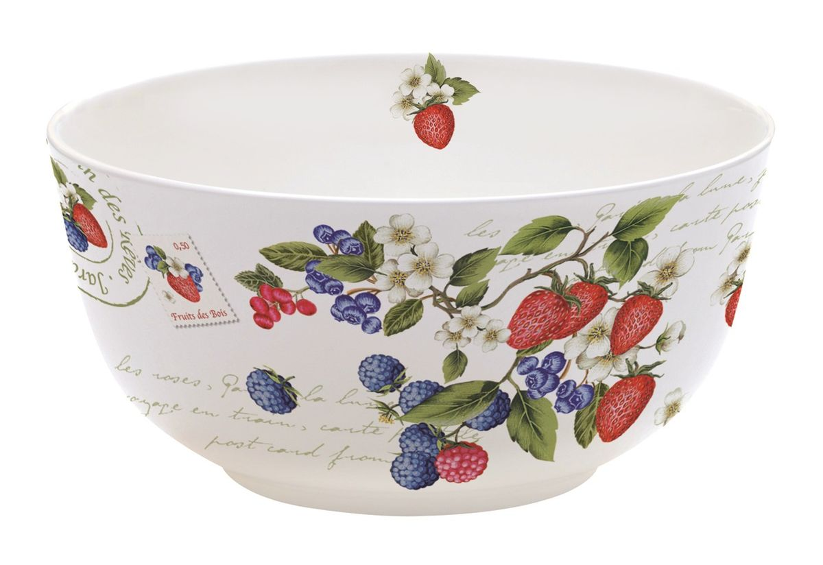 Миска Nuova R2S Садовые ягоды, диаметр 14 см115510Оригинальная миска Nuova R2S Садовые ягоды, изготовленная из высококачественного фарфора, декорирована красочным изображением цветов. Такая миска украсит сервировку вашего стола и подчеркнет прекрасный вкус хозяина, а также станет отличным подарком. Диаметр: 14 см. Высота: 7 см.