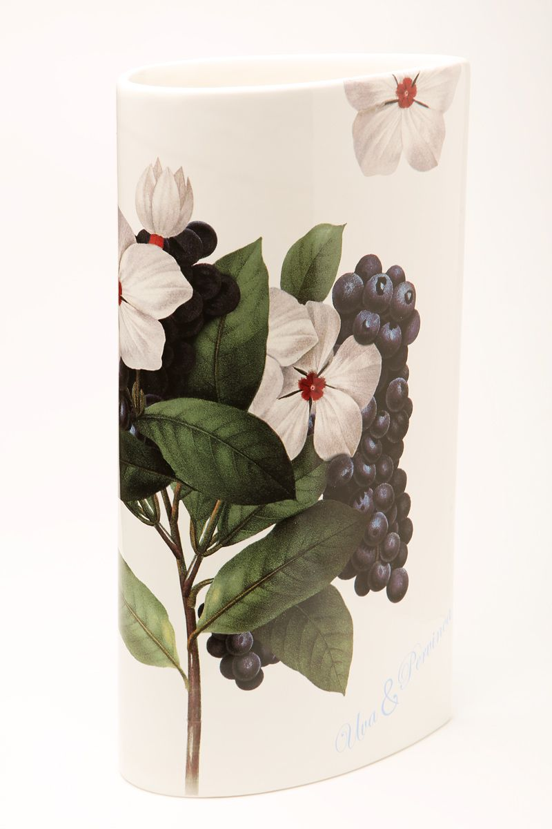 Ваза Ceramiche Viva Нежность, высота 30 см. 86175FS-80423Изящная ваза Ceramiche Viva Нежность изготовлена из керамики и оформлена цветочным рисунком. Изделие сочетает в себе оригинальный дизайн с максимальной функциональностью. Ваза Ceramiche Viva Нежность дополнит интерьер офиса или дома и станет желанным подарком для ваших близких.Диаметр вазы по верхнему краю: 16 см.Высота вазы: 30 с