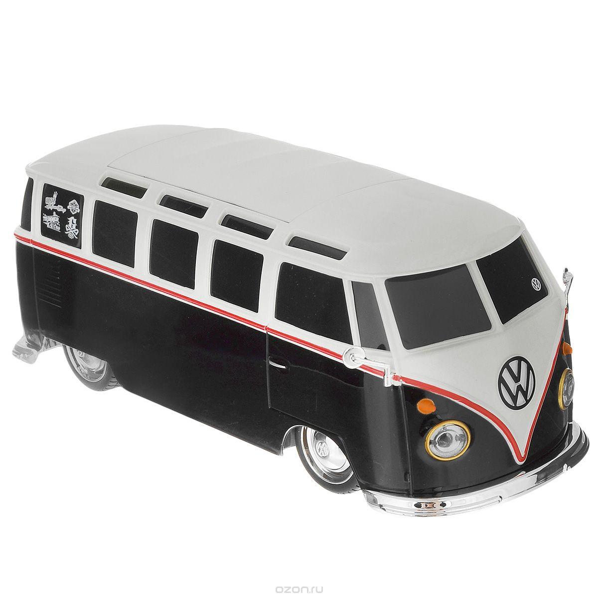 Maisto Радиоуправляемая модель Volkswagen Van Samba цвет черный белый samba surpises