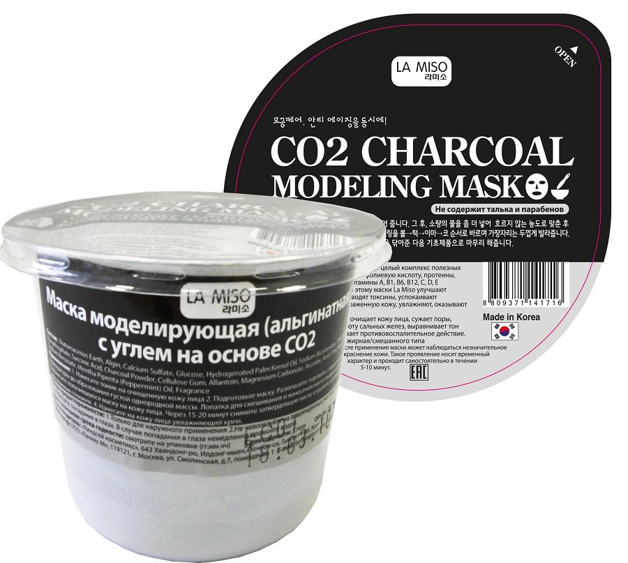 La Miso Маска альгинатная с углем на основе О2, 21 гFS-00897Альгинатные маски La Miso содержат целый комплекс полезных элементов: альгиновую кислоту, фолиевую кислоту, протеины, минеральные элементы, витамины A, B1, B6, B12, C, D, E полисахариды. Благодаря этому маски La Miso улучшают обменные процессы, выводят токсины, успокаивают покрасневшую и раздраженную кожу, увлажняют, оказывают эффект лифтинга.
