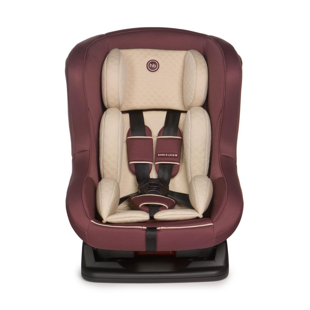 Happy Baby Автокресло Passenger Bordo до 18 кгДива 007Автокресло Happy Baby Passenger Bordo - это удобное, элегантное кресло для детей до 18 кг (группа 0/1), предназначенное для комфортных поездок в автомобиле.Безопасность в машине обеспечивают пятиточечные ремни безопасности, а три положения наклона спинки позволят малышу безмятежно уснуть в пути. Модель отлично впишется в интерьер салона вашего автомобиля, имеет мягкий вкладыш для самых маленьких путешественников, фиксатор натяжения ремня и съемный чехол для удаления загрязнений. Плавные, изящные линии автокресла мягко обволокут малыша, а вместительное сиденье подарит ему необыкновенный комфорт. Устанавливается лицом по ходу или против движения автомобиля, в зависимости от возраста и веса ребенка.