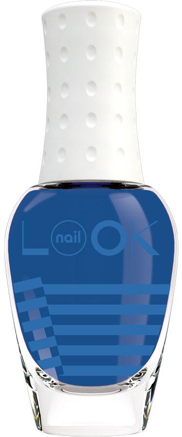 nailLOOK Лак для ногтей Look Trends New Nauticall, 8,5 мл насыщенный синий