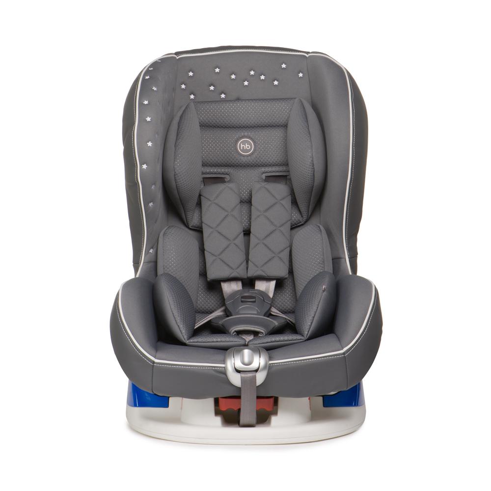 Happy Baby Автокресло Taurus V2 Grey до 18 кгВетерок 2ГФАвтокресло Happy Baby Taurus V2 Grey - это удобное, повышенной комфортности кресло для детей до 18 кг (группа 0/1).Съемный чехол автокресла создан из высококачественной, приятной на ощупь эко-кожи и имеет текстильный матрасик, который создает дополнительный комфорт для ребенка. Безопасность гарантируют пятиточечные ремни безопасности с мягкими накладками, а дополнительная анатомическая вкладка позволит занять малышу уютное правильное положение. Модель имеет выдвижную опору для дополнительного угла наклона и устанавливается лицом по ходу или против движения автомобиля, в зависимости от возраста и веса ребенка. Дизайн выполнен с использованием декоративной вышивки и стежки, что создает неповторимый стильный образ автокресла.Внешний вид кресла подчеркнет изысканный вкус родителей и украсит салон вашего автомобиля.