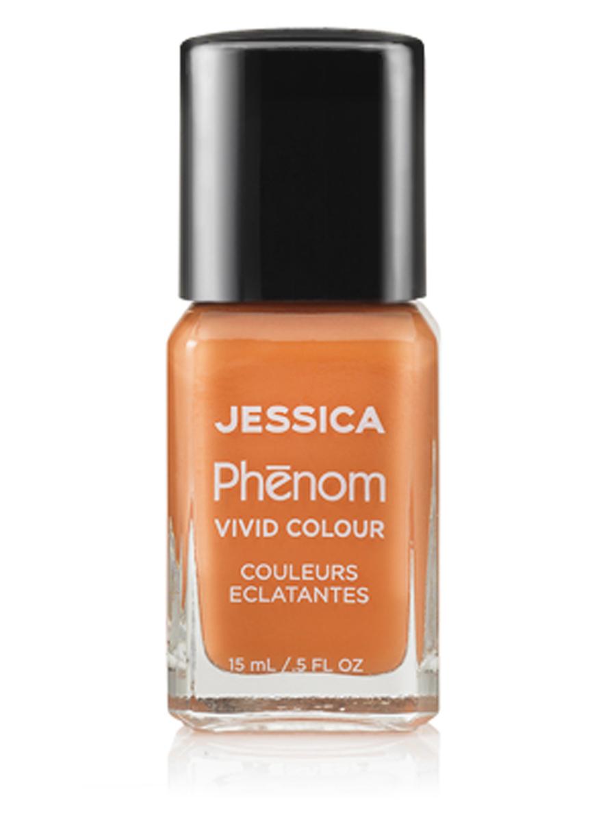Jessica Phenom Цветное покрытие Vivid Colour Tahitian Sunset № 25, 15 мл51221Система покрытия ногтей Phenom обеспечивает быстрое высыхание, обладает стойкостью до 10 дней и имеет блеск гель-лака. Не нуждается в использовании LED/UV ламп. Легко удаляется, как обычный лак для ногтей. Покрытия JESSICA Phenom являются 7-Free и не содержат формальдегида, формальдегидных смол, толуола, дибутилфталата, камфоры, ксилола и этил тосиламида. Как наносить: Система Phenom – это великолепный маникюр за 1-2-3 шага: ШАГ 1: Базовое покрытие – нанесите в два слоя базовое средство JESSICA, подходящее Вашему типу ногтевой пластины.ШАГ 2: Цвет – нанесите в два слоя любой оттенок Phenom Vivid Colour.ШАГ 3: Закрепление – нанесите в один слой Phenom Finale Shine Topcoat для получения блеска гель-лака.