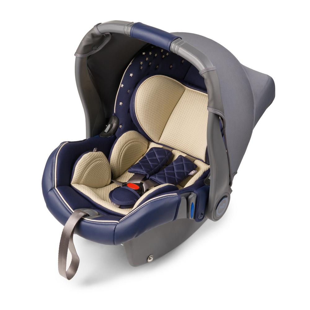 Автокресло Happy Baby Gelios V2 Blue до 13 кг4650069780304Автокресло Happy Baby Gelios V2 - автокресло-переноска группы 0+ (для детей с рождения до 13 кг). Данная модель обладает всеми необходимыми функциями для обеспечения безопасности: трехточечными ремнями безопасности, боковой защитой и прочным корпусом. Индикатор горизонтального положения поможет правильно установить автокресло-переноску в машине. Комфорт в дороге обеспечивает вкладыш для новорожденного, солнцезащитный козырек и чехол на ножки. Благодаря полукруглому основанию удобно укачивать малыша, в качестве ограничителя качания можно использовать ручку переноски, опустив ее вниз до упора. Мягкий дышащий вкладыш устойчив к истиранию, прекрасно держит форму при сминании. Чехол прост в уходе, при необходимости легко снимается для чистки. Автокресло Happy Baby Gelios V2 без дополнительных адаптеров крепится к основанию прогулочной коляски ULTRA, что позволяет перемещать малыша, не тревожа его чуткий сон. Автокресло крепится в автомобиле с помощью трехточечных штатных ремней безопасности и устанавливается лицом против хода движения автомобиля. Подарите вашему малышу уют, комфорт и безопасность вместе с многофункциональным автокреслом Happy Baby Gelios V2.