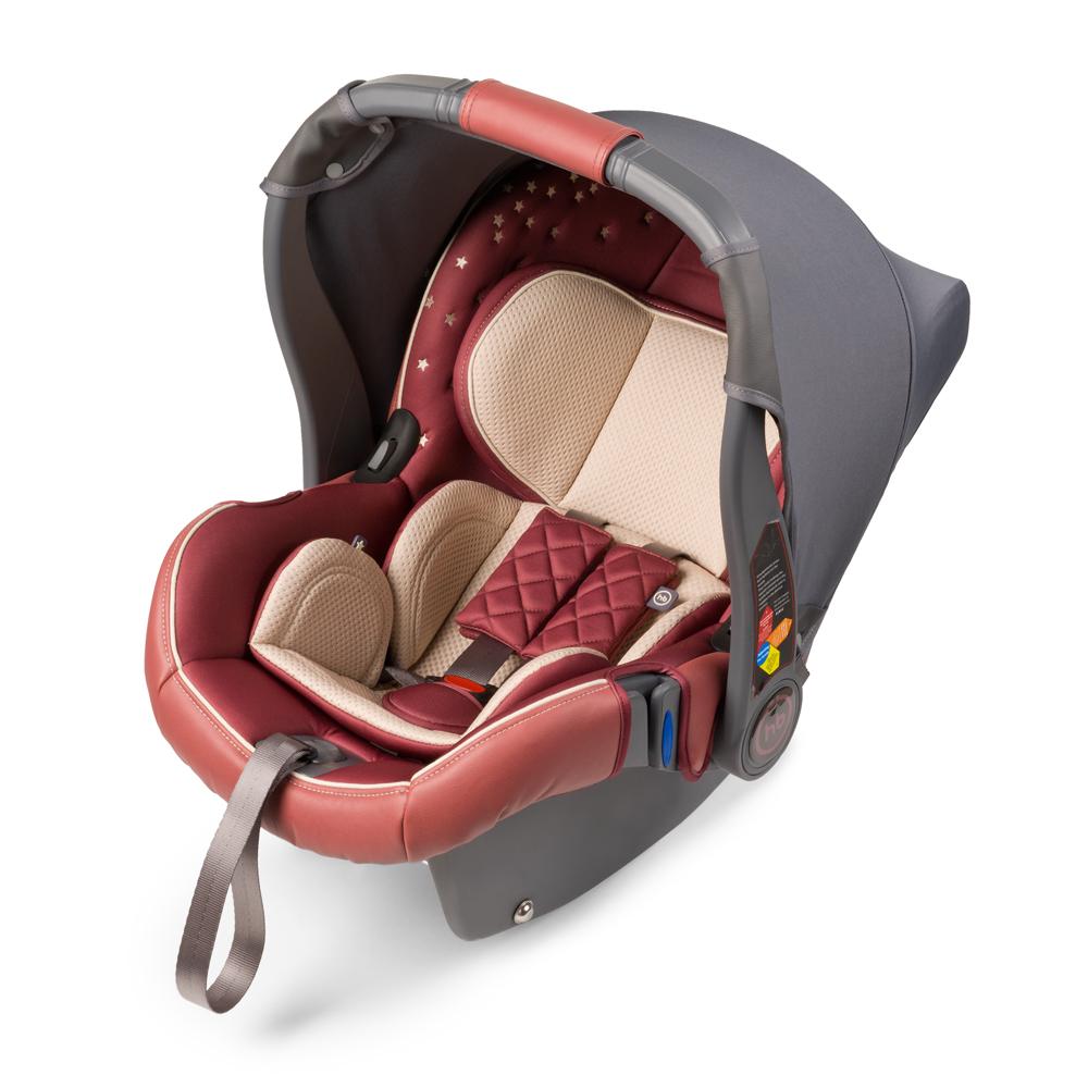 Автокресло Happy Baby Gelios V2 Bordo до 13 кг4650069780298Автокресло Happy Baby Gelios V2 - автокресло-переноска группы 0+ (для детей с рождения до 13 кг). Данная модель обладает всеми необходимыми функциями для обеспечения безопасности: трехточечными ремнями безопасности, боковой защитой и прочным корпусом. Индикатор горизонтального положения поможет правильно установить автокресло-переноску в машине. Комфорт в дороге обеспечивает вкладыш для новорожденного, солнцезащитный козырек и чехол на ножки. Благодаря полукруглому основанию удобно укачивать малыша, в качестве ограничителя качания можно использовать ручку переноски, опустив ее вниз до упора. Мягкий дышащий вкладыш устойчив к истиранию, прекрасно держит форму при сминании. Чехол прост в уходе, при необходимости легко снимается для чистки. Автокресло Happy Baby Gelios V2 без дополнительных адаптеров крепится к основанию прогулочной коляски ULTRA, что позволяет перемещать малыша, не тревожа его чуткий сон. Автокресло крепится в автомобиле с помощью трехточечных штатных ремней безопасности и устанавливается лицом против хода движения автомобиля. Подарите вашему малышу уют, комфорт и безопасность вместе с многофункциональным автокреслом Happy Baby Gelios V2.