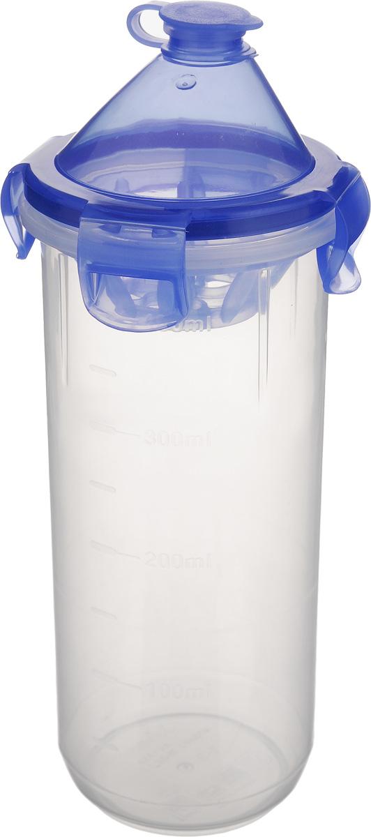 Шейкер Xeonic, 470 млVT-1520(SR)Шейкер Xeonic, изготовленный из высококачественного полипропилена, идеально подходит для приготовления смешанных напитков, Крышка оснащена силиконовым уплотнителем и специальными защелками по бокам, благодаря которым она плотно закрывается и предотвращает содержимое шейкера от проливания. На внешние стенки изделия нанесена мерная шкала.С помощью такого шейкера вы сможете приготовить самый экзотический смешанный напиток у себя дома, чем приятно удивите гостей, родных и близких вам людей. Почувствуйте себя профессиональным барменом!Подходит для использования в микроволновой печи.Можно мыть в посудомоечной машине. Диаметр шейкера (по верхнему краю): 8 см.Высота шейкера (с учетом крышки): 20,5 см.