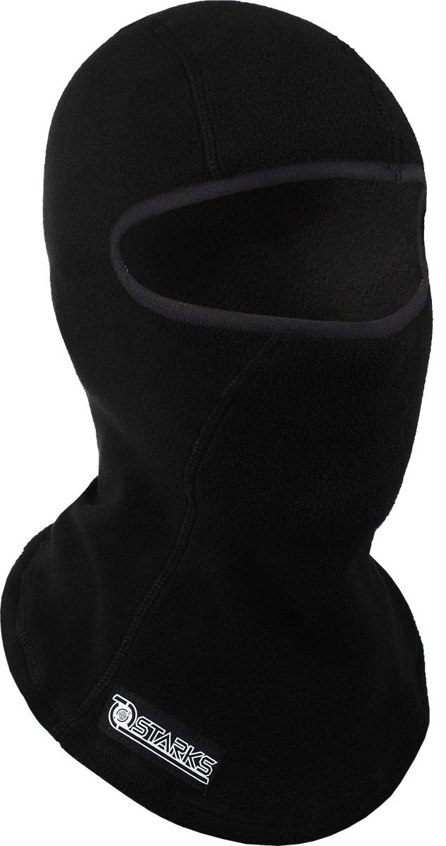 """Подшлемник с защитой шеи Starks """"Balaclava Fleece Collar"""", цвет: черный"""