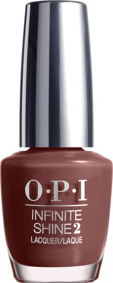 """OPI Лак для ногтей Infinite Shine Linger Over Coffee, 15 мл28032022""""Линия Infinite Shine была разработана в ответ на желание покупателей получить лаковые покрытия, по свойствам не уступающие гелевым, которые при этом имели бы самые модные оттенки, обладали уникальной формулой и носили культовые имена, которыми так знаменита компания OPI,"""" - объясняет Сюзи Вайс-Фишманн, соучредитель и исполнительный вице-президент OPI. """"Покрытие Infinite Shine наносится и снимается точно так же, как и обычные лаки для ногтей, однако вы получаете те самые блеск и стойкость, которые отличают гелевую формулу!"""" Палитра Infinite Shine включает в себя широкий спектр оттенков, от нейтральных до ярко-красных, оранжевых, розовых, а далее до темно-серых, синих и черного. Лаки Infinite Shine имеют запатентованную формулу. Каждый флакон снабжен эксклюзивной кистью ProWide™ для идеального нанесения."""