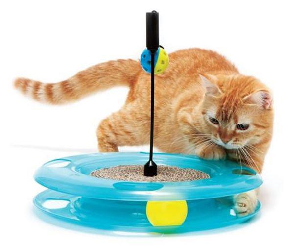 Игрушка для кошек SportPet Designs Поле чудес, диаметр 31 см23060Игрушка для кошек SportPet Designs Поле чудес, изготовленная из пластика, это инновационный аксессуар для кошек, состоящий из трех компонентов. Конструкция игрушки включает в себя мяч на гибком столбике, мяч в тоннеле и специальную подушечку для царапания. Эта интересная и очень необычная игрушка станет любимой у вашей кошки, за ней она весело проведет ни один час.