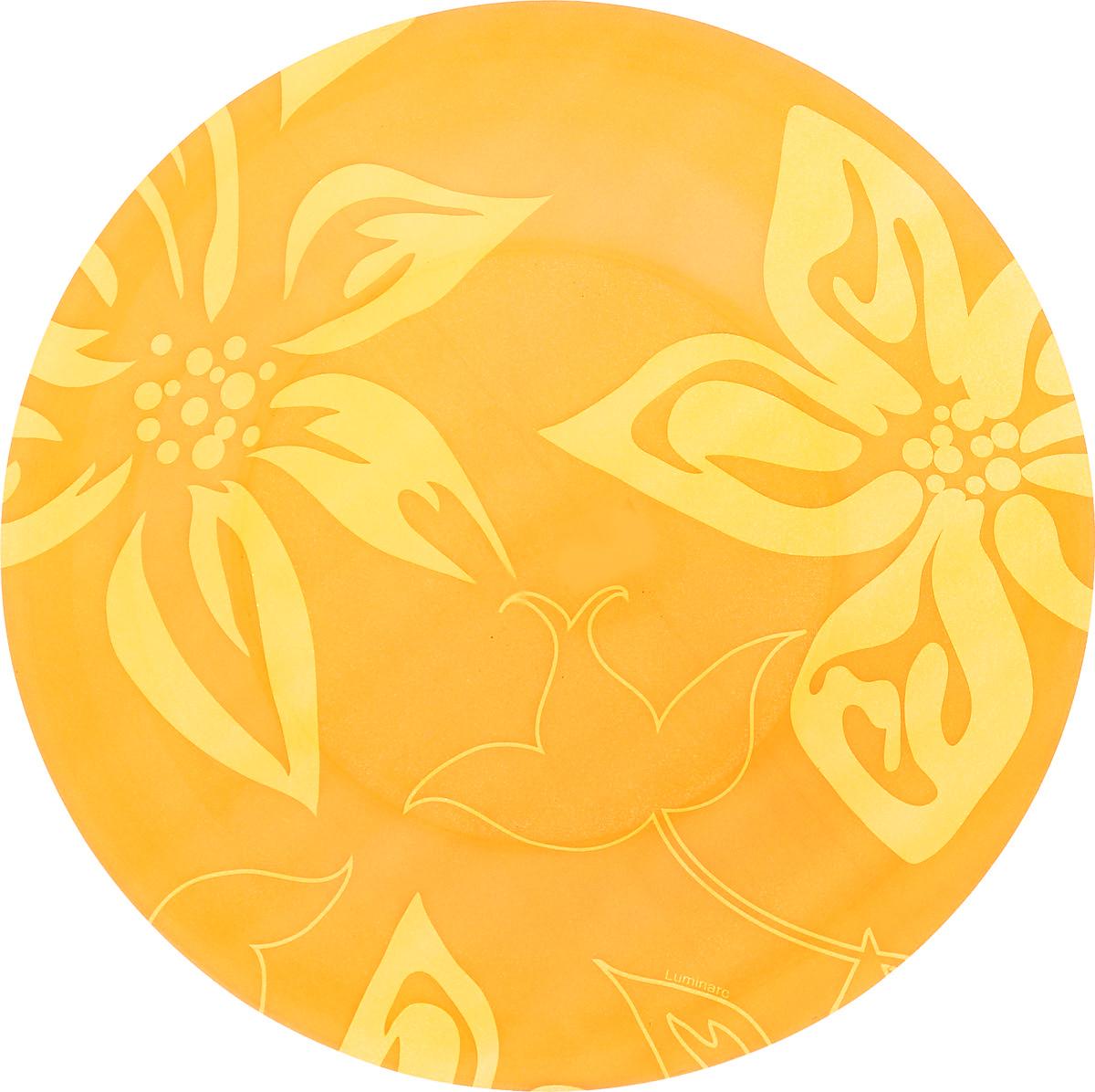 Тарелка десертная Luminarc Lily Flower, диаметр 19,5 см54 009312Десертная тарелка Luminarc Lily Flower, изготовленная из ударопрочного стекла, декорирована изображением цветов. Такая тарелка прекрасно подходит как для торжественных случаев, так и для повседневного использования. Идеальна для подачи десертов, пирожных, тортов и многого другого. Она прекрасно оформит стол и станет отличным дополнением к вашей коллекции кухонной посуды. Диаметр тарелки (по верхнему краю): 19,5 см.
