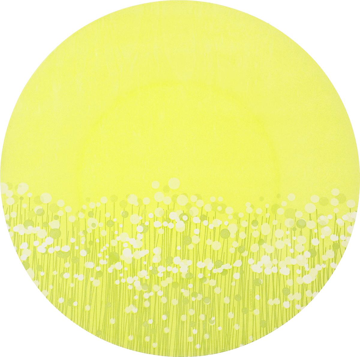 Тарелка десертная Luminarc FlowerFields Anis, диаметр 20 смH2492Десертная тарелка Luminarc FlowerFields Anis, изготовленная из ударопрочного стекла, декорирована ярким рисунком. Такая тарелка прекрасно подходит как для торжественных случаев, так и для повседневного использования. Идеальна для подачи десертов, пирожных, тортов и многого другого. Она прекрасно оформит стол и станет отличным дополнением к вашей коллекции кухонной посуды. Диаметр тарелки (по верхнему краю): 20 см.