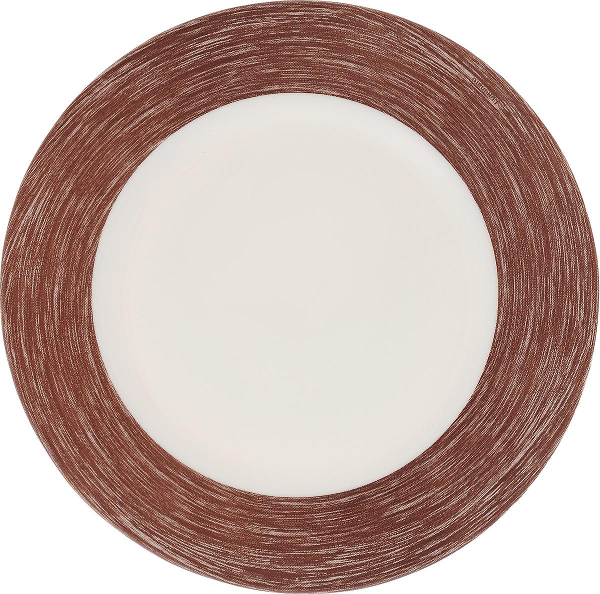 Тарелка десертная Luminarc Color Days Chocolate, 19 см54 009312Десертная тарелка Luminarc Color Days Chocolate, изготовленная из ударопрочного стекла, имеет изысканный внешний вид. Такая тарелка прекрасно подходит как для торжественных случаев, так и для повседневного использования. Идеальна для подачи десертов, пирожных, тортов и многого другого. Она прекрасно оформит стол и станет отличным дополнением к вашей коллекции кухонной посуды. Диаметр тарелки (по верхнему краю): 19 см.