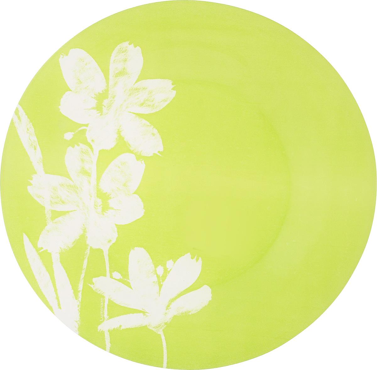 Тарелка десертная Luminarc Cotton Flower, 20 смL1520Десертная тарелка Luminarc Cotton Flower, изготовленная из ударопрочного стекла, имеет изысканный внешний вид. Такая тарелка прекрасно подходит как для торжественных случаев, так и для повседневного использования. Идеальна для подачи десертов, пирожных, тортов и многого другого. Она прекрасно оформит стол и станет отличным дополнением к вашей коллекции кухонной посуды. Диаметр тарелки (по верхнему краю): 20 см.