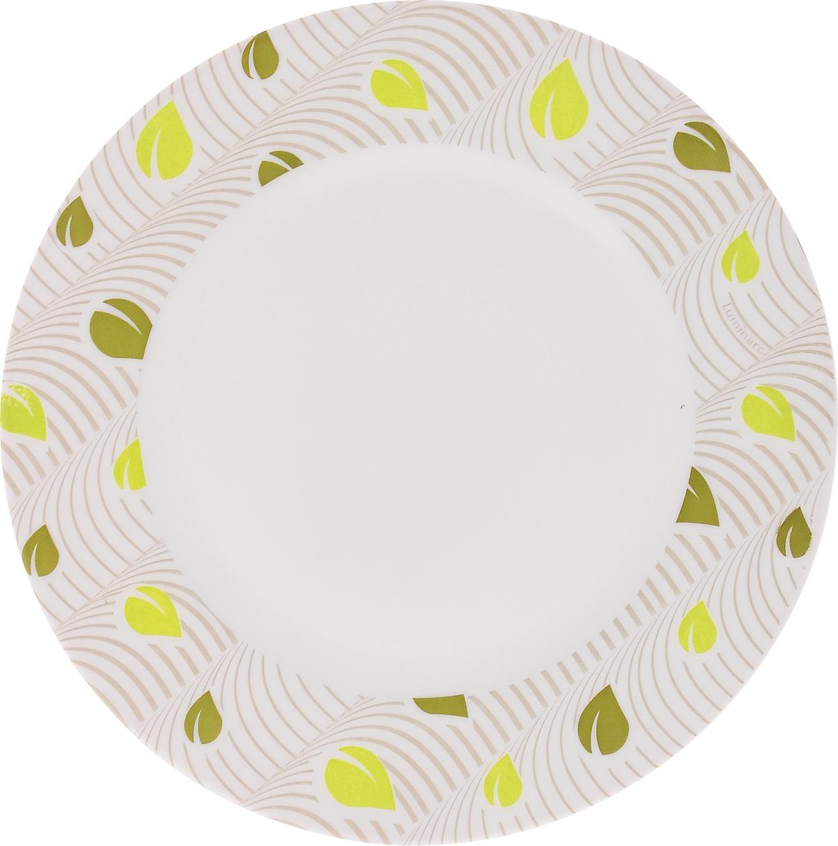 Тарелка десертная Luminarc Amely, 19 см54 009312Десертная тарелка Luminarc Amely, изготовленная из ударопрочного стекла, имеет изысканный внешний вид. Такая тарелка прекрасно подходит как для торжественных случаев, так и для повседневного использования. Идеальна для подачи десертов, пирожных, тортов и многого другого. Она прекрасно оформит стол и станет отличным дополнением к вашей коллекции кухонной посуды. Диаметр тарелки (по верхнему краю): 19 см.