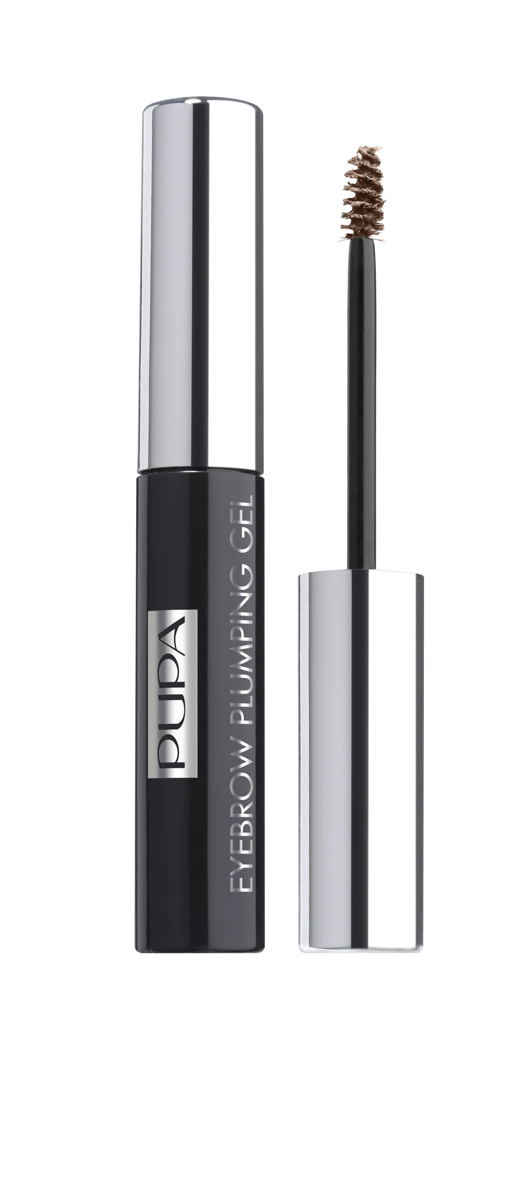 Pupa Пигментированный гель для бровей EYEBROW PLUMPING GEL № 001 светлый, 4 мл29101264030Пигментированный фиксирующий гель для бровей EYEBROW PLUMPING GEL. Мягкий, слегка пигментированный, устойчивый гель для акцентирования и фиксации бровей в макияже. Формула: Включает специальные микроволокна, которые придают объем (плотность) бровям, без эффекта утяжеления. Увлажняющие ингредиенты обеспечивают ощущение свежести и комфорта. Специальные пигменты - для мягкого равномерного окрашивания. Профессиональный аппликатор – щеточка с короткими щетинами равномерно распределяет гелевую структуру, нежно расчесывает брови, фиксируя их направление.