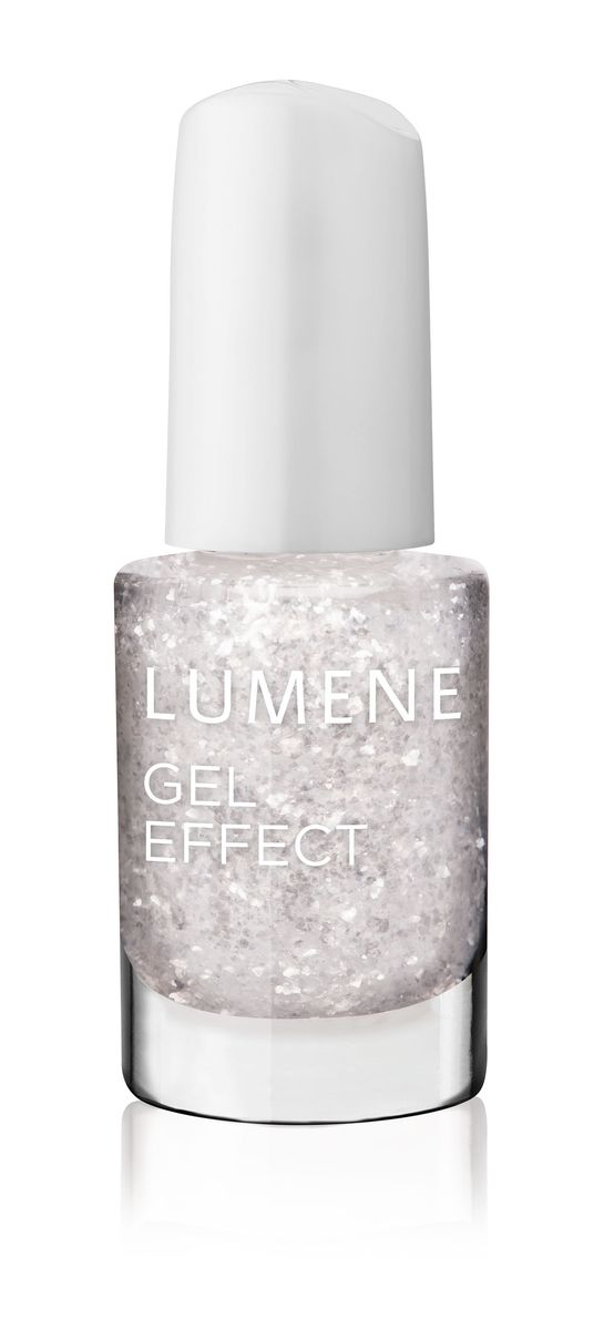 LUMENE Лак для ногтей с гелевым эффектом №61, сияние льда, 5 мл28032022LUMENE GEL EFFECT NAIL POLISH. ЛАК ДЛЯ НОГТЕЙ С ГЕЛЕВЫМ ЭФФЕКТОМ LUMENE. Здоровые ногти и яркий цвет! С помощью лака с гелевым эффектом можно создать ровное покрытие, которое делает ногти прочными и долго держится. С помощью удобной кисточки очень легко аккуратно нанести лак. Ультрастойкое покрытие позволяет сохранить идеальный маникюр в течение нескольких дней. Произведено без фталатов, толуола и формальдегида.