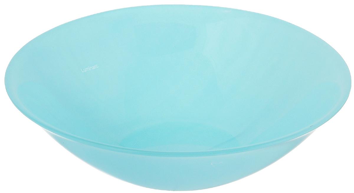 Салатник Luminarc Colorama Blue, диаметр 16,5 см115510Салатник Luminarc Colorama Blue выполнен из ударопрочного стекла и имеет классическую круглую форму. Он прекрасно впишется в интерьер вашей кухни и станет достойным дополнением к кухонному инвентарю. Салатник Luminarc Colorama Blue подчеркнет прекрасный вкус хозяйки и станет отличным подарком. Диаметр салатника (по верхнему краю): 16,5 см.