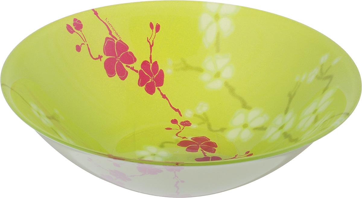 Салатник Luminarc Kashima Green, диаметр 16,5 см115010Салатник Luminarc Kashima Green выполнен из ударопрочного стекла и имеет классическую круглую форму. Он прекрасно впишется в интерьер вашей кухни и станет достойным дополнением к кухонному инвентарю. Салатник Luminarc Kashima Green подчеркнет прекрасный вкус хозяйки и станет отличным подарком. Диаметр салатника (по верхнему краю): 16,5 см.