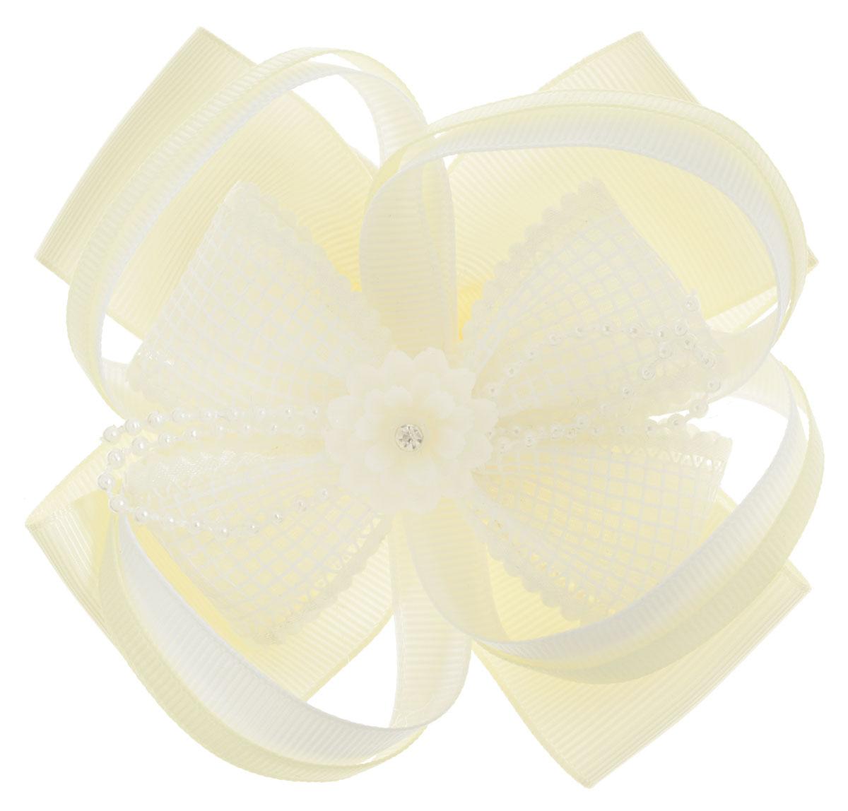 Baby's Joy Резинка для волос цвет кремовый белый AL 969