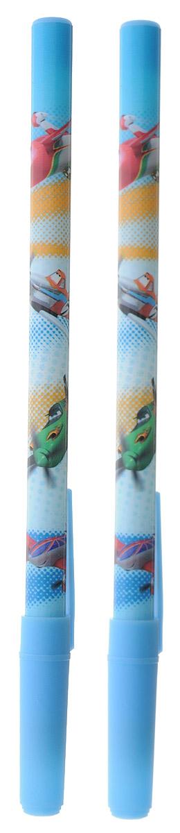 Kinderline Набор шариковых ручек Самолеты 2 шт72523WDШариковая ручка Kinderline Самолеты понравится поклонникам знаменитого одноименного мультфильма.Корпус выполнен из прочного яркого пластика синего цвета с синим колпачком. Ручка дает аккуратную четкую линию и обеспечивает превосходное качество письма. Чернила быстро сохнут и не размазываются. Цвет чернил: синий.В наборе 2 ручки.