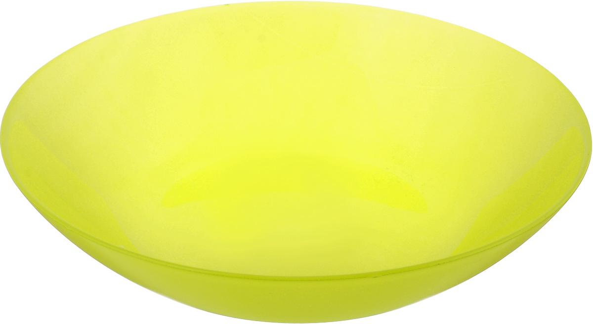 Тарелка глубокая Luminarc Arty Anis, диаметр 20 см115510Глубокая тарелка Luminarc Arty Anis выполнена из ударопрочного стекла и имеет классическую круглую форму. Она прекрасно впишется в интерьер вашей кухни и станет достойным дополнением к кухонному инвентарю. Тарелка Luminarc Arty Anis подчеркнет прекрасный вкус хозяйки и станет отличным подарком. Диаметр тарелки (по верхнему краю): 20 см.