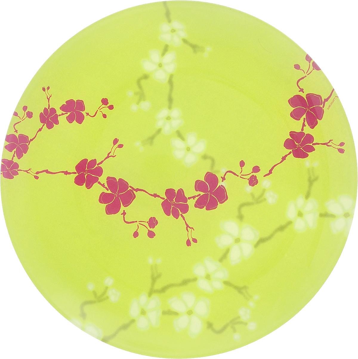 Тарелка десертная Luminarc Kashima Green, 20,5 смJ4652Десертная тарелка Luminarc Kashima Green, изготовленная из ударопрочного стекла, имеет изысканный внешний вид. Такая тарелка прекрасно подходит как для торжественных случаев, так и для повседневного использования. Идеальна для подачи десертов, пирожных, тортов и многого другого. Она прекрасно оформит стол и станет отличным дополнением к вашей коллекции кухонной посуды. Диаметр тарелки (по верхнему краю): 20,5 см.