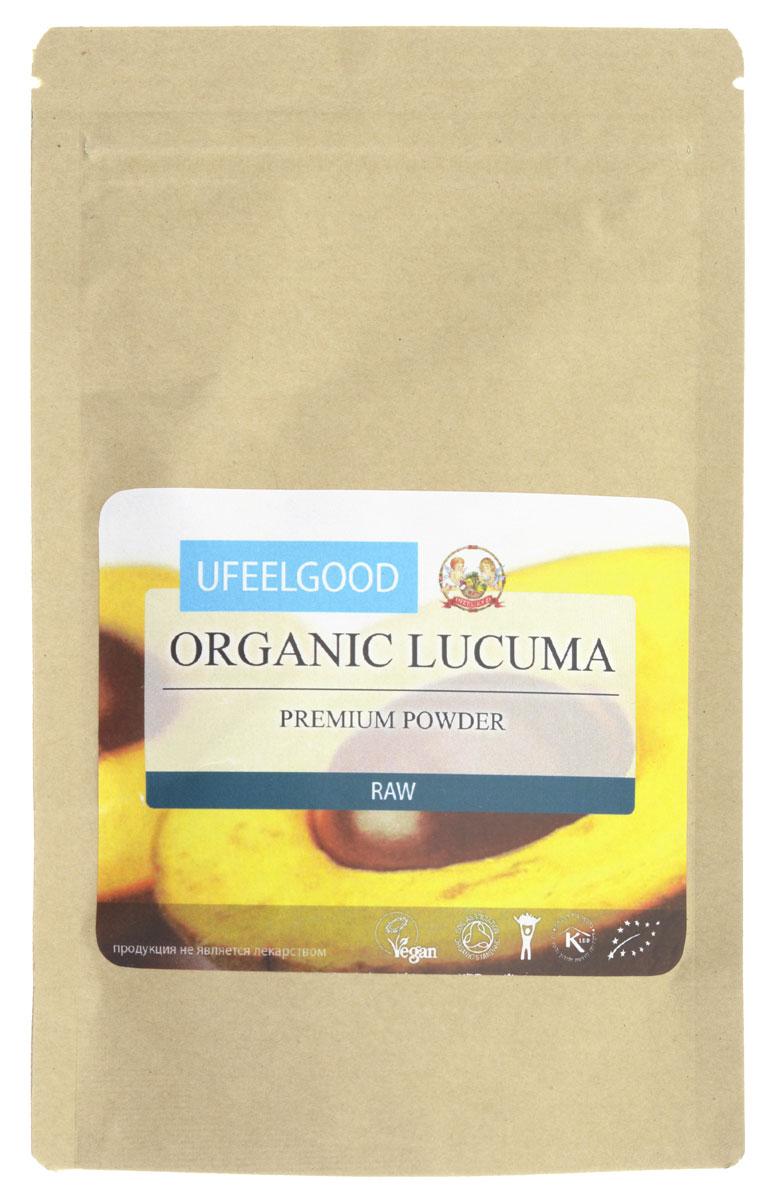 UFEELGOOD Organic Lukuma Premium Powder органическая лукума молотая, 100 г0120710Первое использование лукума в пищу датировано еще двухсотым годом нашей эры. На перуанском высокогорье первыми испробовали вкус сладких фруктов люди племени Моче. С тех пор лукум стал основным продуктом питания, так как, обладал приятными вкусовыми свойствами и был относительно легкодоступен. Помимо питательного, у него было еще и символическое значение – преподношение богам в виде подарка. Изображение фрукта найдено на керамике одного из археологических объектов, когда-то его называли золотом инков. В наше время лукум остается популярным во всей Центральной и Южной Америке, он выращивается в Перу, Чили, Эквадоре и Боливии.UFEELGOOD производит из лукума порошок, который может стать полезной альтернативой сахару. Порошок лукума можно добавить в рецепт пирожного, это придаст вашей выпечке необыкновенный вкус и аромат. Сам фрукт богат витаминами, содержит кальций, натрий, фосфор. Лукум в засушенном виде добавляют в различные блюда для усиления вкусовых качеств или используют в виде порошка как заменитель сахара. Кроме оригинального вкуса лукум обладает и полезными свойствами:Предотвращение старения кожиИспользуется как безопасных для диабетиков заменитель сахараПоддерживает воспроизводство кровяных клетокСпособствует быстрому заживлению ранПомогает избавиться от излишнего веса