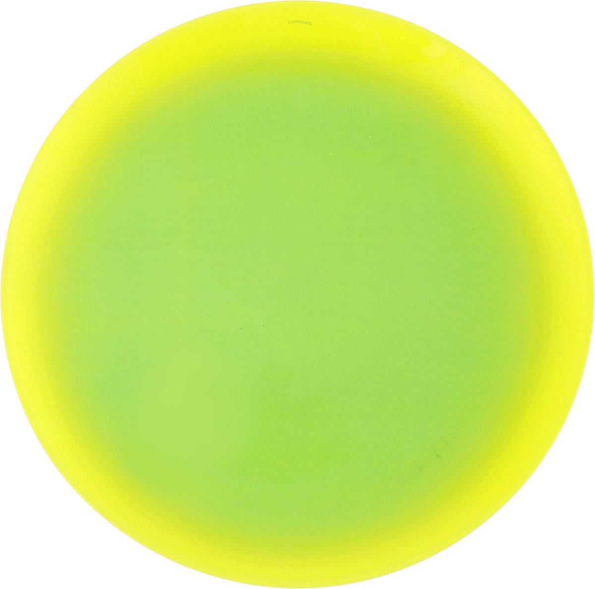 Тарелка обеденная Luminarc Fizz Mint, диаметр 25 см54 009312Обеденная тарелка Luminarc Fizz Mint, изготовленная из ударопрочного стекла, имеет изысканный внешний вид. Яркий дизайн придется по вкусу и ценителям классики, и тем, кто предпочитает утонченность. Тарелка Luminarc Fizz Mint идеально подойдет для сервировки вторых блюд из птицы, рыбы, мяса или овощей, а также станет отличным подарком к любому празднику.Диаметр тарелки (по верхнему краю): 25 см.
