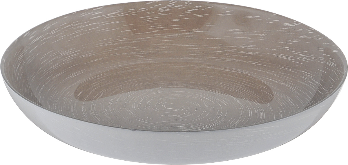 Тарелка глубокая Luminarc Stonemania Grey, диаметр 20 см54 009312Глубокая тарелка Luminarc Stonemania Grey выполнена из ударопрочного стекла и имеет классическую круглую форму. Она прекрасно впишется в интерьер вашей кухни и станет достойным дополнением к кухонному инвентарю. Тарелка Luminarc Stonemania Grey подчеркнет прекрасный вкус хозяйки и станет отличным подарком. Диаметр тарелки (по верхнему краю): 20 см.