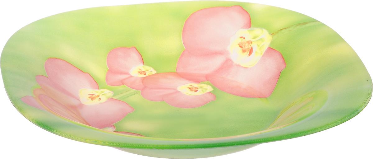 Тарелка глубокая Luminarc Carine Erine, 20 х 20 см54 009312Глубокая тарелка Luminarc Carine Erine выполнена изударопрочного стекла и оформлена цветочным рисунком.Изделие сочетает в себе изысканный дизайн с максимальнойфункциональностью. Она прекрасно впишется винтерьер вашей кухни и станет достойным дополнениемк кухонному инвентарю. Тарелка Luminarc Carine Erine подчеркнет прекрасный вкус хозяйкии станет отличным подарком. Размер (по верхнему краю): 20 х 20 см.
