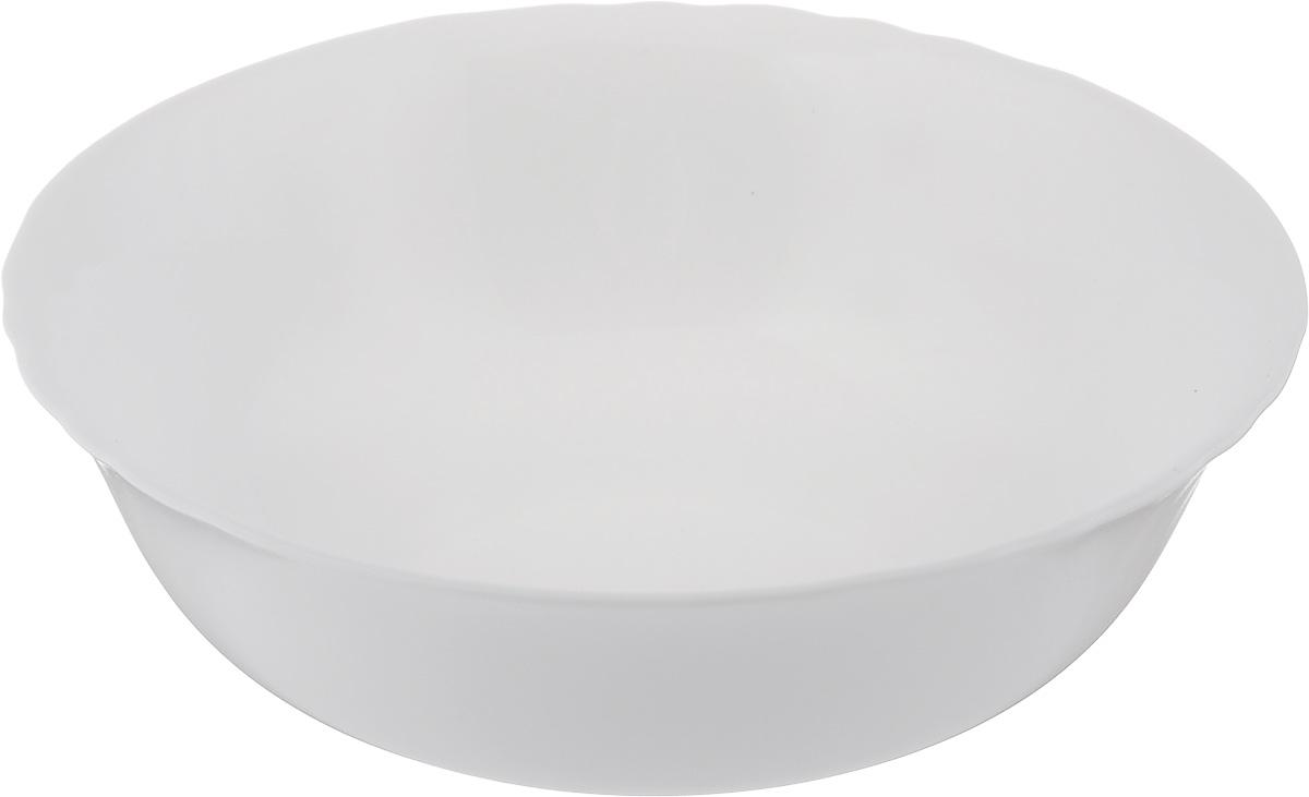 Салатник Luminarc Cadix, диаметр 16 см115510Великолепный круглый салатник Luminarc Cadix, изготовленный из ударопрочного стекла, прекрасно подойдет для подачи различных блюд: закусок, салатов или фруктов. Такой салатник украсит ваш праздничный или обеденный стол, а оригинальное исполнение понравится любой хозяйке. Диаметр салатника (по верхнему краю): 16 см.