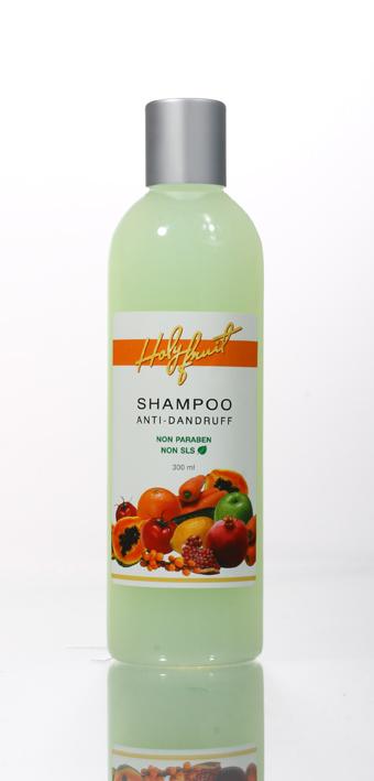 Holy Fruit Шампунь против перхоти Shampoo Anti-Dandruff, 300 млKap299Шампунь предназначен для решения таких проблем как себорея и себорейный дерматит, повышенное выделение кожного жира, выпадение волос, ранки на коже головы. Соли Мертвого моря нормализуют функции кожи, удаляют омертвевшие клетки и излишки кожного жира, открывают поры. Пиритион цинка и масло чайного дерева оказывают сильнейшее противопсориатическое и бактерицидное действие, подавляют размножение и жизнедеятельность грибков – возбудителей перхоти, подсушивает кожу головы. Экстракты крапивы, шалфея, камелии, масло розмарина и облепихи усиливают лечебные свойства шампуня, стимулируют рост, увлажняю корни волос.Постоянное применение шампуня способствует восстановлению функции сальных желез, ускоряет процесс регенерации эпидермиса, препятствует выпадению волос. Особенно рекомендуется для ухода за жирными волосами.