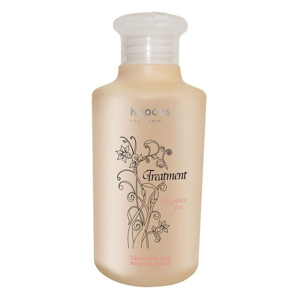 Kapous Treatment Шампунь для жирных волос 250 млKap587Шампунь для жирных волос Kapous серии Treatment - это эффективное косметическое средство, позволяющее бережно очищать кожу и волосы от загрязнений, устранять сальный блеск и восстанавливать работу сальных желез, обеспечивая надежный защитный и увлажняющий эффект.Входящий в состав Экстракт апельсина способствует регенерацииклеток, обладаетпротивовоспалительным действием, снижает активность сальных желез, тем самым замедляет засаливание волос, а так же содержит много питательных веществ, таких как кальций, фосфор, железо и калий. Витамин А, витамины семейства В и большое количество витамина С, содержащиеся в экстракте апельсина, возвращают волосам естественную влажность, эластичность и блеск, успокаивают кожу головы, обеспечивая рост здоровых волос. Активные растительные компоненты, обладающие вяжущими свойствами, нормализуют деятельность сальных желез и снижают производство себума.С первого же применения деятельность сальных желез нормализуется, волосы становятся легкими. Регулярное применение шампуня позволяет значительно улучшить состояние кожи головы и увеличить время между мытьем волос.