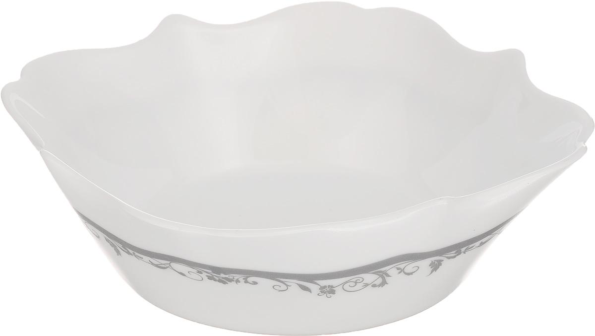 Миска Luminarc Authentic Silver, диаметр 16 х 16 см115510Миска Luminarc Authentic Silver выполнена из высококачественного стекла. Изделие сочетает в себеизысканный дизайн с максимальной функциональностью. Она прекрасно впишется в интерьер вашей кухни и станет достойным дополнением к кухонному инвентарю. Миска Authentic Silver подчеркнет прекрасный вкус хозяйки и станет отличным подарком. Размер миски (по верхнему краю): 16 х 16 см. Высота стенки: 6 см.