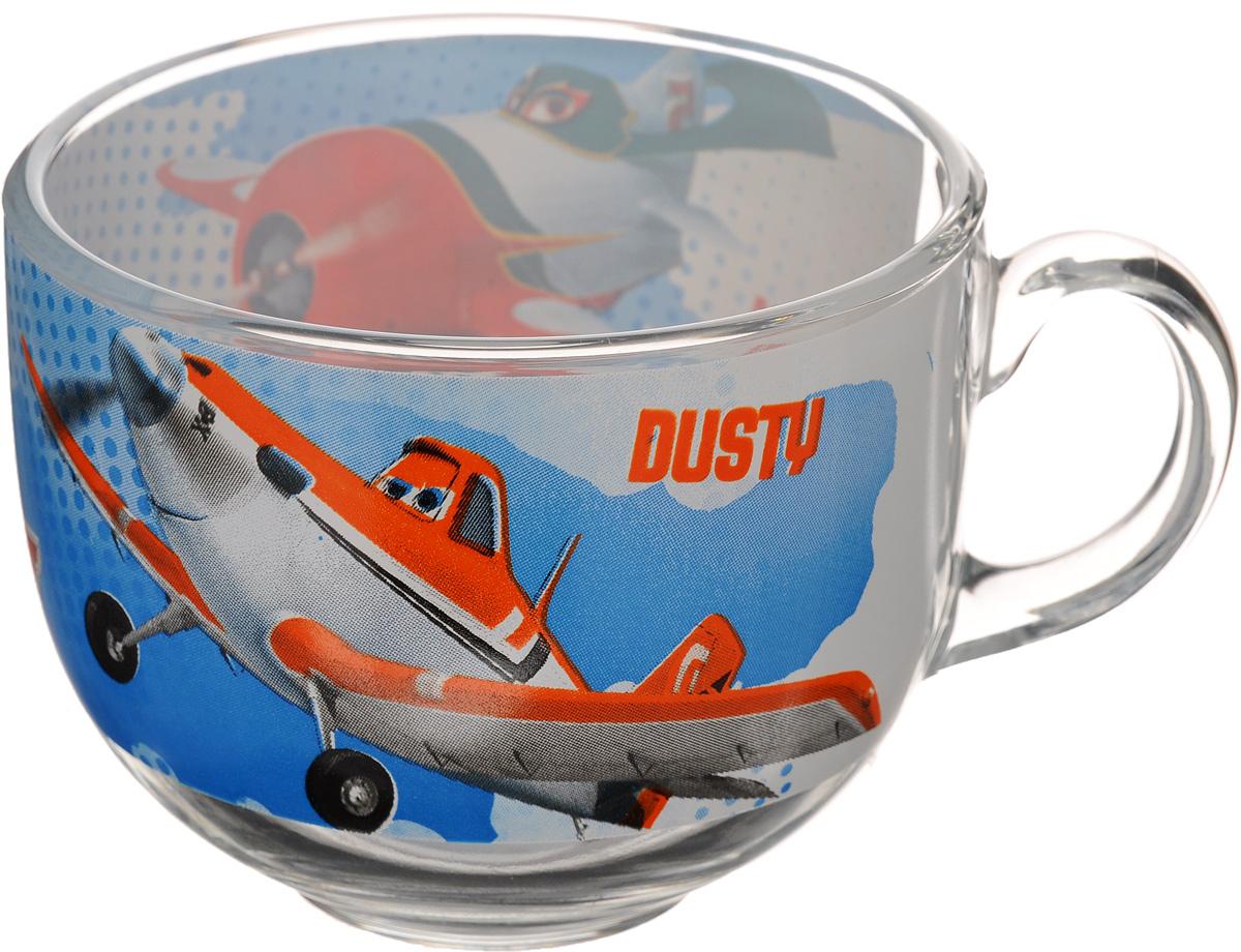 Кружка Luminarc Planes. Jumbo, 400 мл115510Кружка Luminarc Planes. Jumbo изготовлена из упрочненного стекла. Такая кружка прекрасно подойдет для горячих и холодных напитков. Она дополнит коллекцию вашей кухонной посуды и будет служить долгие годы. Объем кружки: 400 мл. Диаметр кружки (по верхнему краю): 10,5 см. Диаметр дна: 5 см.Высота кружки: 8,5 см.