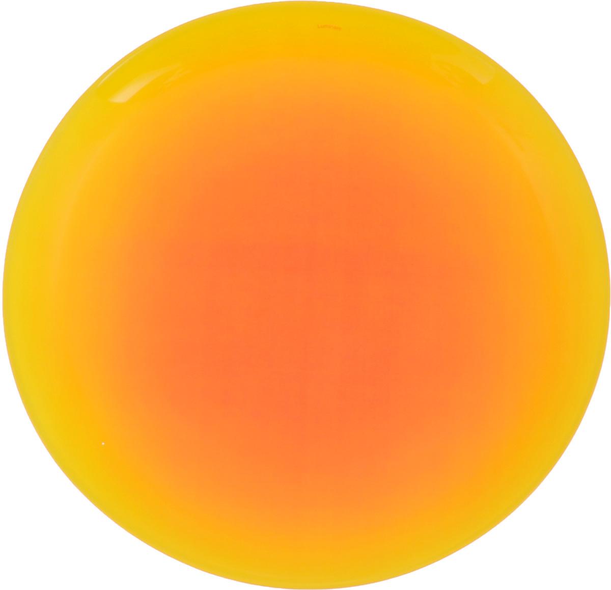Тарелка Luminarc Fizz Lemon, диаметр 25 см115610Тарелка Luminarc Fizz Lemon, изготовленная из ударопрочного стекла и имеет оригинальный дизайн. Такая тарелка прекрасно подходит как для торжественных случаев, так и для повседневного использования. Идеальна для подачи десертов, пирожных, тортов и многого другого. Она прекрасно оформит стол и станет отличным дополнением к вашей коллекции кухонной посуды. Диаметр тарелки (по верхнему краю): 25 см. Высота тарелки: 2,2 см.