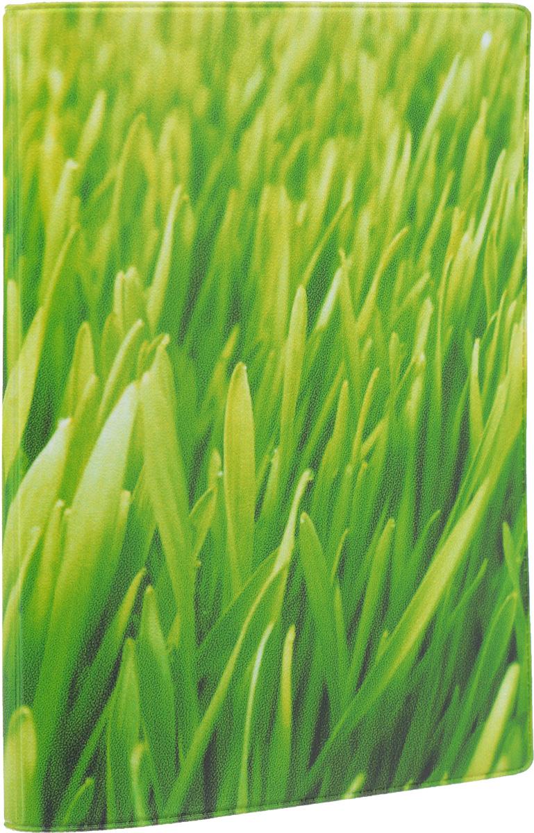 Обложка для паспорта Mitya Veselkov Газон, цвет: зеленый. OZAM048INT-06501Обложка для паспорта Mitya Veselkov Газон не только поможет сохранить внешний вид ваших документов и защитить их от повреждений, но и станет стильным аксессуаром, идеально подходящим вашему образу. Обложка выполнена из поливинилхлорида и оформлена изображением зеленой газонной травы. Внутри имеет два вертикальных кармана из прозрачного пластика. Такая обложка поможет вам подчеркнуть свою индивидуальность и неповторимость! Обложка для паспорта стильного дизайна может быть достойным и оригинальным подарком.
