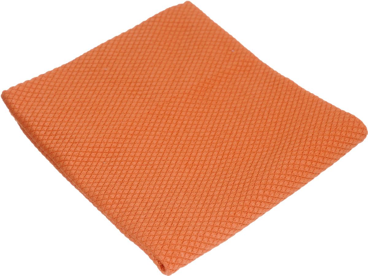 Салфетка чистящая Sapfire CleaningX-treme Сloth, цвет: оранжевый, 35 х 40 смDW90Салфетка Sapfire CleaningX-treme Сloth предназначена для бережной очистки от сильных загрязнений. Великолепно удаляет пыль и грязь с любой поверхности. Клиновидные микроскопические волокна захватывают и легко удерживают частички пыли, жировой и никотиновый налет, микроорганизмы, в том числе болезнетворные и вызывающие аллергию.Материал салфетки: микрофибра (85% полиэстер и 15% полиамид) - обладает уникальной способностью быстро впитывать большой объем жидкости (в 8 раз больше собственной массы). Салфетка великолепно моет и сушит. Протертая поверхность становится идеально чистой, сухой, блестящей, без разводов и ворсинок.Размер салфетки: 35 х 40 см.