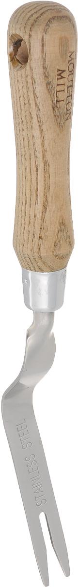 Видер садовый Gardman Moulton Mill, цвет: светло-коричневый391602Садовый видер Gardman Moulton Mill изготовлен из высококачественной нержавеющей стали. Эргономичная рукоятка выполнена из древесины дуба. Нержавеющая сталь уменьшает прилипание почвы и комбинирует практичность и длительность использования. Садовый видер позволит легко и при минимальной затрате времени выдернуть вместе с корнями самый крепко вросший в землю сорняк, при этом практически не повреждая дерн.Длина видера: 29 см.Размер рабочей поверхности: 2 х 9,5 см.