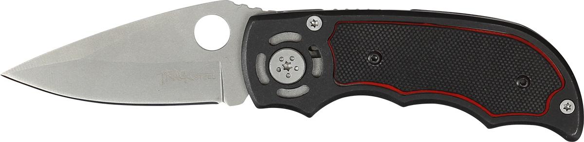 Нож складной Track Steel. 55421031.3713Складной нож Track Steel всегда найдет себе применение на даче или в гараже, на рыбалке или охоте. Малые габариты делают его удобным при частой транспортировке. Лезвие выполнено из высококачественной нержавеющей стали. Изделие имеет удобную рукоятку.Длина клинка: 60 мм.Толщина клинка: 2,3 мм.Общая длина ножа: 157 мм.
