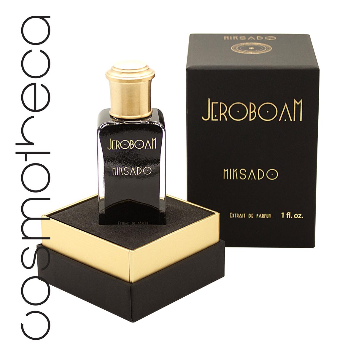 Jeroboam Парфюмерная эссенция MIKSADO, 30 мл28032022Этот аромат вызывает устойчивое привыкание благодаря смеси фруктовых нот со специями, погруженными в бешеный коктейль ценных древесин и мускусов. ВЕРХ: бергамот, лабданум, шафран СЕРДЦЕ: кедр, герань, гваякБАЗА: пачули, ваниль, смесь мускусов