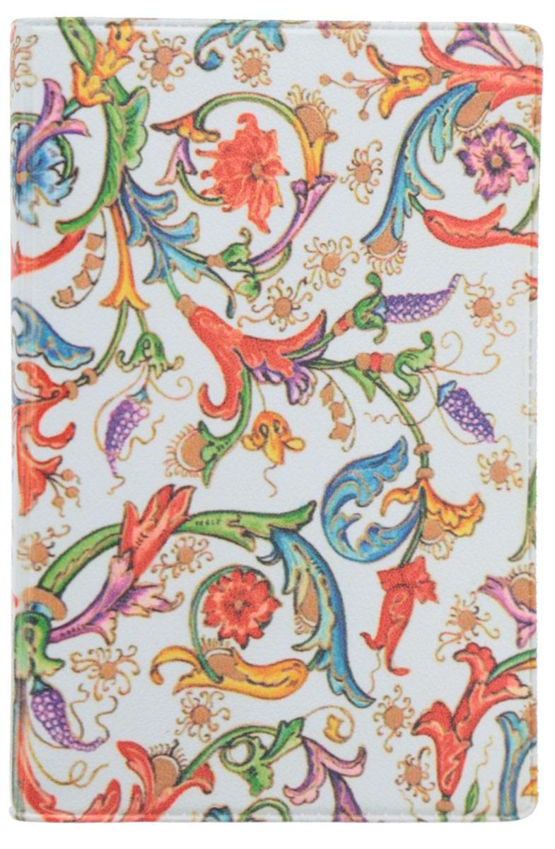 Визитница Mitya Veselkov Райский сад, цвет: белый, зеленый, красный. VIZIT-054B16-11416Оригинальная визитница Mitya Veselkov Райский сад прекрасно подойдет для хранения визиток и пластиковых карт. Визитница выполнена из натуральной кожи и оформлена цветочным принтом. Внутри содержатся съемный блок из прозрачного мягкого пластика на восемнадцать визиток и два прозрачных боковых кармана.Стильная визитница подчеркнет вашу индивидуальность и изысканный вкус, а также станет замечательным подарком человеку, ценящему качественные и практичные вещи.