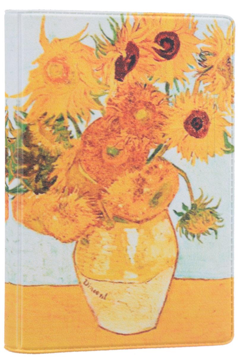 Визитница Mitya Veselkov Ван Гог. Подсолнухи, цвет: оранжевый, желтый. VIZAM011B16-11416Оригинальная визитница Mitya Veselkov Ван Гог. Подсолнухи прекрасно подойдет для хранения визиток и пластиковых карт. Визитница выполнена из ПВХ и оформлена изображением художественного произведения Винсента Ван Гога Подсолнухи. Внутри содержится съемный блок из прозрачного мягкого пластика на восемнадцать визиток и два прозрачных боковых кармана.Стильная визитница подчеркнет вашу индивидуальность и изысканный вкус, а также станет замечательным подарком человеку, ценящему качественные и практичные вещи.