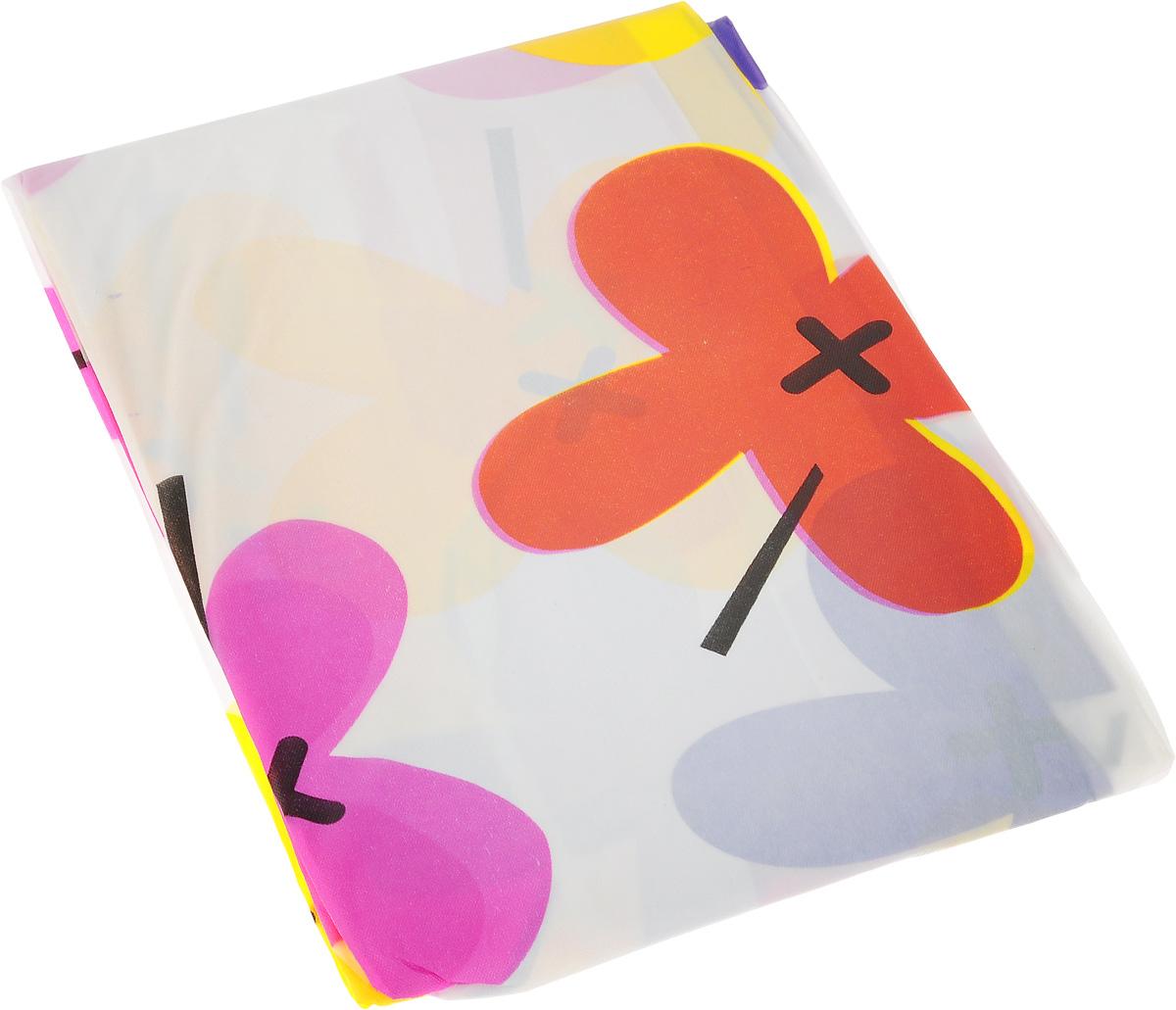 Скатерть Хозяюшка Мила, квадратная, цвет: сиреневый, фиолетовый, желтый, 180 х 180 смVT-1520(SR)Великолепная скатерть Хозяюшка Мила, выполненная из полиэтилена, органично впишется в интерьер любого помещения, а оригинальный дизайн удовлетворит даже самый изысканный вкус. Изделие украшено изображением цветов. Скатерть водонепроницаема. Подходит как для повседневной, так и для праздничной сервировки стола. В современном мире кухня - это не просто помещение для приготовления и приема пищи, это особое место, где собирается вся семья и царит душевная атмосфера. Кухня - душа вашего дома, поэтому важно создать в ней атмосферу уюта.