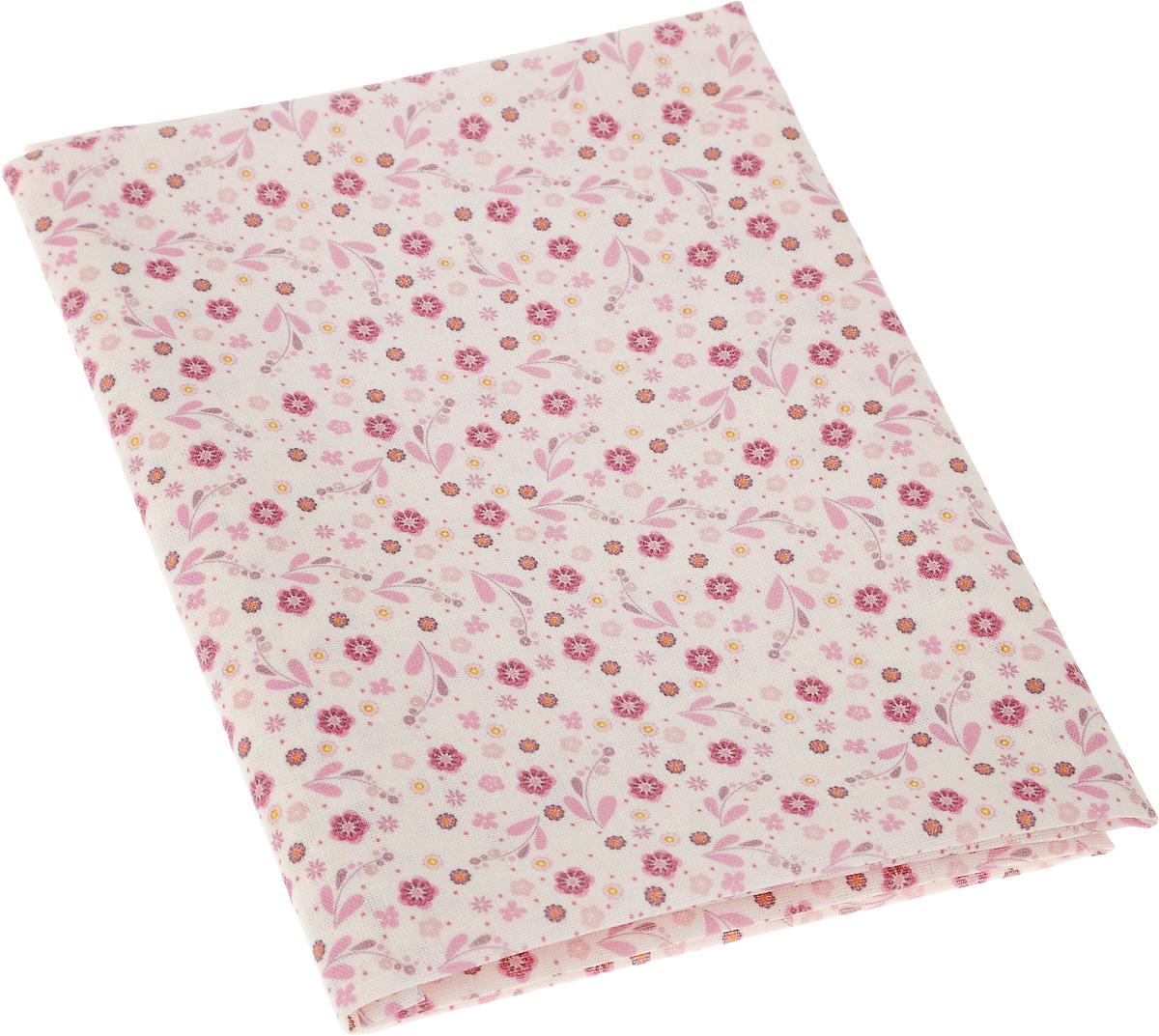 Ткань для пэчворка Артмикс Печворк, цвет: молочный, розовый, 48 x 50 см09840-20.000.00Ткань Артмикс Печворк, изготовленная из 100% хлопка, предназначена для пошива одеял, покрывал, сумок, аппликаций и прочих изделий в технике пэчворк. Также подходит для пошива кукол, аксессуаров и одежды.Пэчворк - это вид рукоделия, при котором по принципу мозаики сшивается цельное изделие из кусочков ткани (лоскутков). Плотность ткани: 120 г/м2.УВАЖАЕМЫЕ КЛИЕНТЫ!Обращаем ваше внимание, на тот факт, что размер отреза может отличаться на 1-2 см.