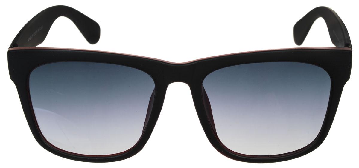 Очки солнцезащитные женские Fabretti, цвет: черный, бордовый. A1604-19INT-06501Солнцезащитные женские очки Fabretti выполнены с линзами из высококачественного пластика.Используемый пластик не искажает изображение, не подвержен нагреванию и вредному воздействию солнечных лучей, защищает от бликов, повышает контрастность и четкость изображения, снижает усталость глаз и обеспечивает отличную видимость. Линзы имеют степень затемнения Cat. 3.Пластиковая оправа очков выполнена в черном цвете а внутренняя сторона в бордовом цвете. Оправа легкая, прилегающей формы и поэтому не создает никакого дискомфорта.Такие очки защитят глаза от ультрафиолетовых лучей, подчеркнут вашу индивидуальность и сделают ваш образ завершенным.