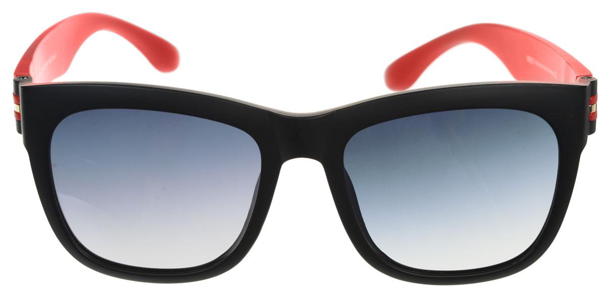Очки солнцезащитные женские Fabretti, цвет: черный, красный. A1612-2INT-06501Солнцезащитные мужские очки Fabretti выполнены с линзами из высококачественного пластика.Используемый пластик не искажает изображение, не подвержен нагреванию и вредному воздействию солнечных лучей, защищает от бликов, повышает контрастность и четкость изображения, снижает усталость глаз и обеспечивает отличную видимость. Линзы имеют степень затемнения Cat. 3.Пластиковая оправа очков выполнена в красно-черной гамме. Оправа легкая, прилегающей формы и поэтому не создает никакого дискомфорта.Такие очки защитят глаза от ультрафиолетовых лучей, подчеркнут вашу индивидуальность и сделают ваш образ завершенным.
