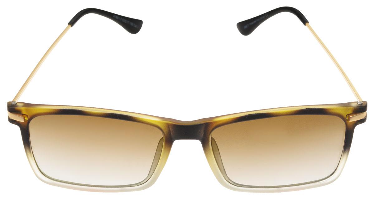 Очки солнцезащитные мужские Fabretti, цвет: бежевый, коричневый. A1601-7BM8434-58AEСолнцезащитные мужские очки Fabretti выполнены с линзами из высококачественного пластика.Используемый пластик не искажает изображение, не подвержен нагреванию и вредному воздействию солнечных лучей, защищает от бликов, повышает контрастность и четкость изображения, снижает усталость глаз и обеспечивает отличную видимость. Линзы имеют степень затемнения Cat. 3.Оправа легкая, прилегающей формы и поэтому не создает никакого дискомфорта.Такие очки защитят глаза от ультрафиолетовых лучей, подчеркнут вашу индивидуальность и сделают ваш образ завершенным.